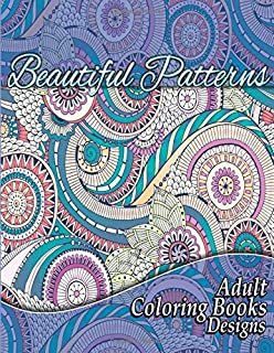 Beautiful Patterns Adult Coloring Books Designs Volume 16 Sacred Mandala And