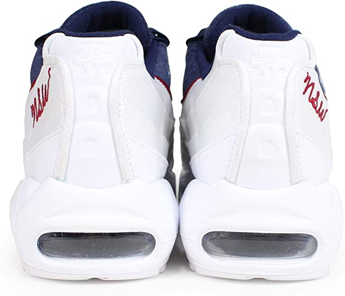 Men s Air Max Axis Running Shoe. Nike Women s Air Max 95 LX White Blackened  Blue Red Crush AA1103-100. Back. Double-tap to zoom 902c6b0d0