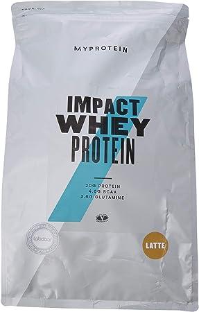 MyProtein Impact Whey Proteína de Suero, Sabor Latte - 5000 gr