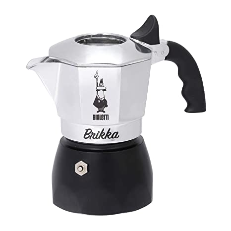 Amazon.com: Bialetti Brikka 2 Cuo Limited Edtion [Black ...