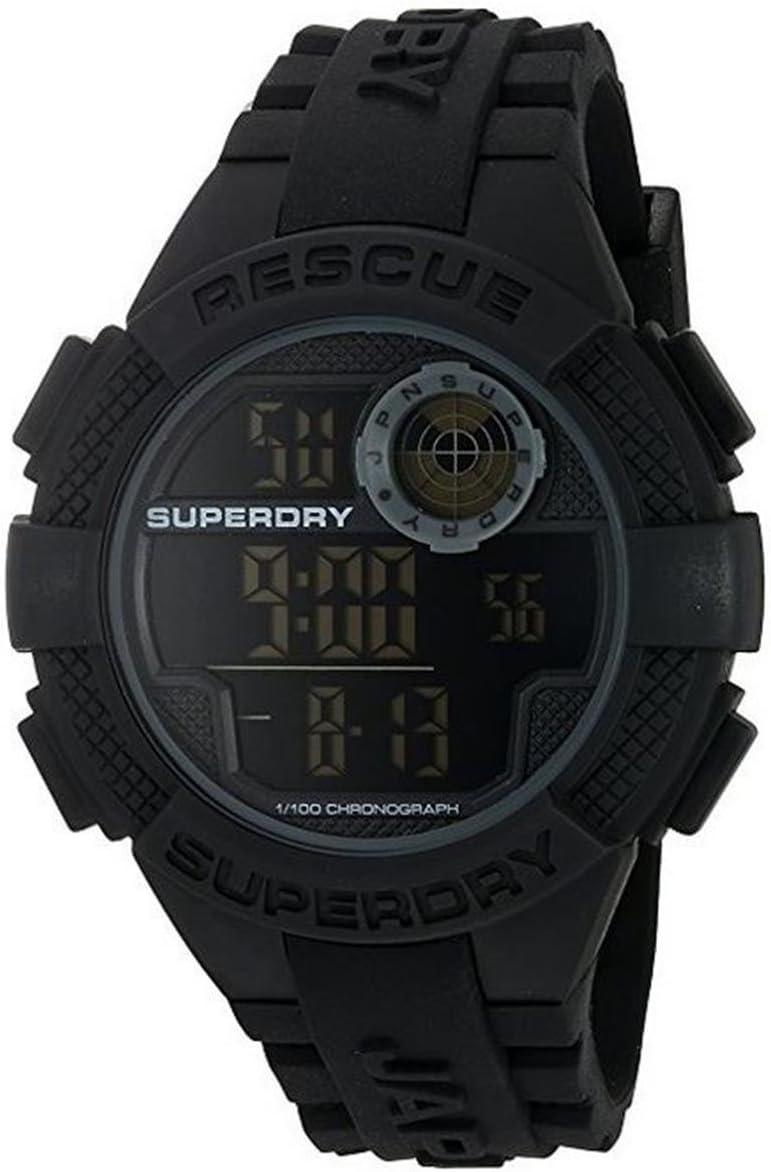 Superdry Reloj Radar Rescue Negro