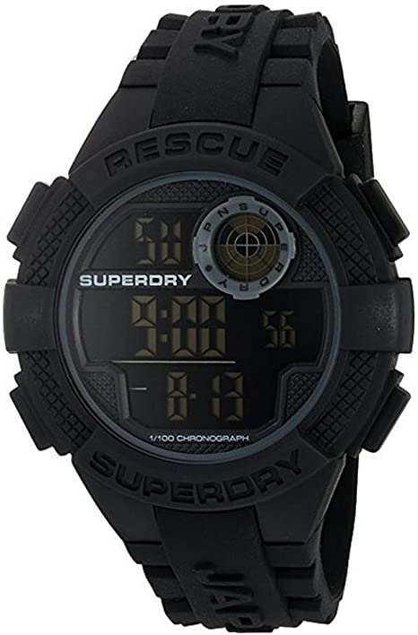 Superdry Reloj Radar Rescue Negro