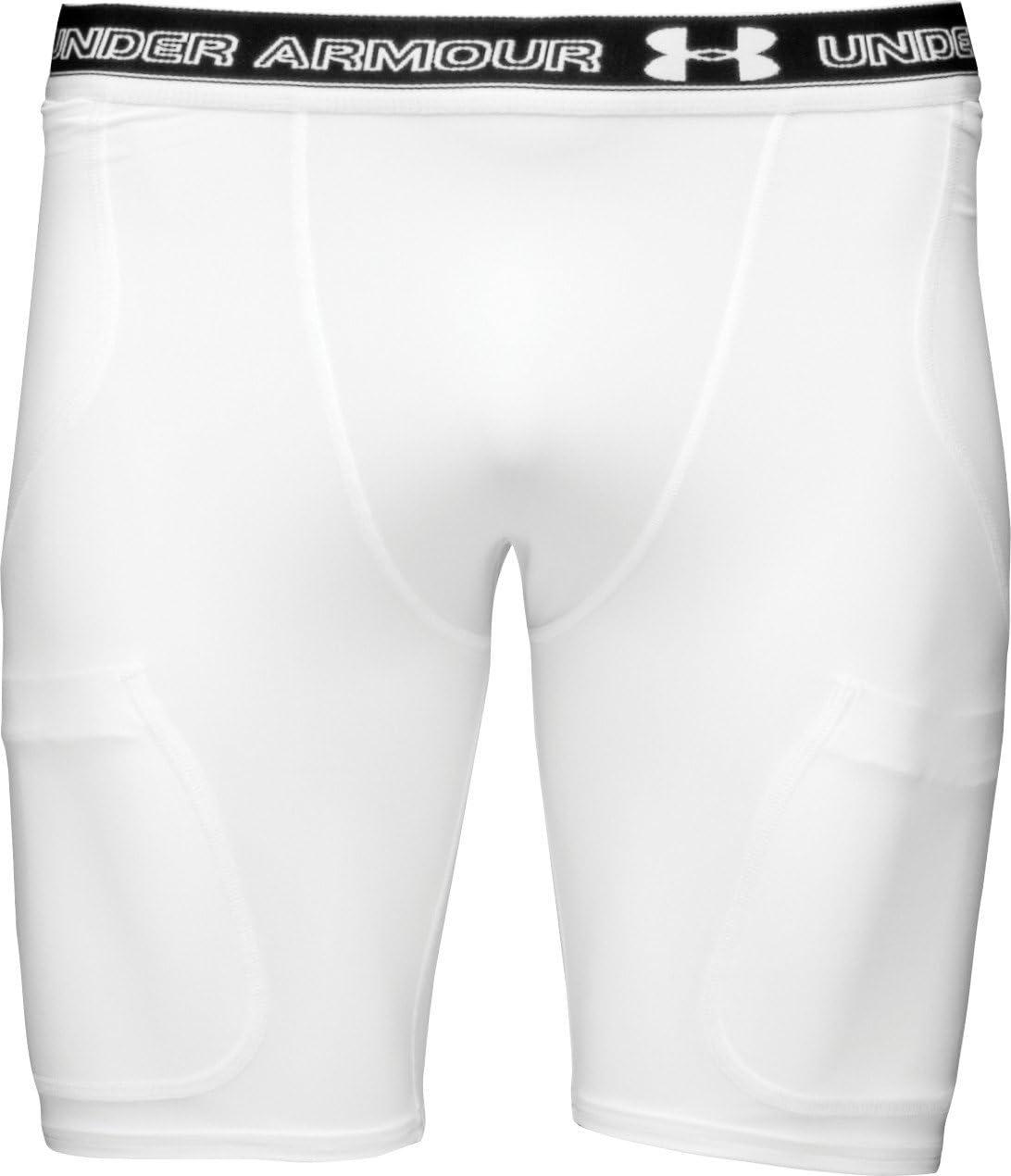 Under Armour Mens Six Pocket Girdle White/Black Size XXL: Amazon.es: Deportes y aire libre