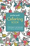 vintage pocket books - Pocket Posh Adult Coloring Book: Vintage Designs for Fun & Relaxation (Pocket Posh Coloring Books)
