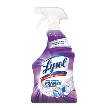 Lysol Bathroom Cleaner Spray Mold And Mildew Killer With Bleach - Bathroom mold killer
