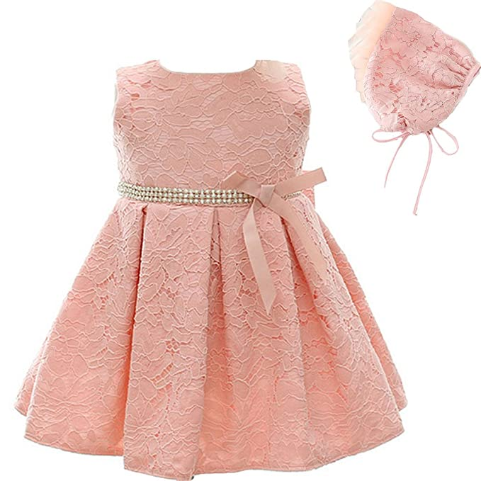 3a552397267 Moon Kitty Baby Girl Dress Christening Baptism Gowns Christmas Formal Dress   Amazon.ca  Baby