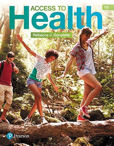 Access to Health Plus Mastering Health with Pearson eText -- Access Card Package (15th Edition)