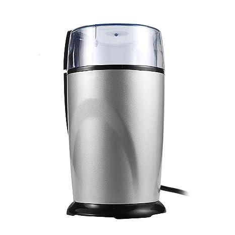 Amazon.com: Molinillo de café eléctrico de acero inoxidable ...