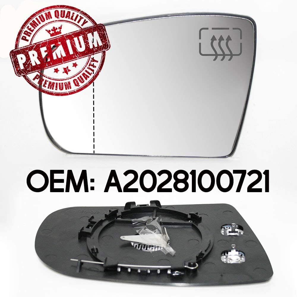 Specchietto retrovisore riscaldato lato sinistro per classe E W210 1999-2003 OEM A2028100721