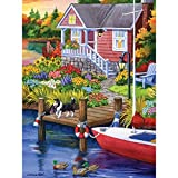 Bits and Pieces - 300 Piece Jigsaw Puzzle for Adults - Lakeside Retreat