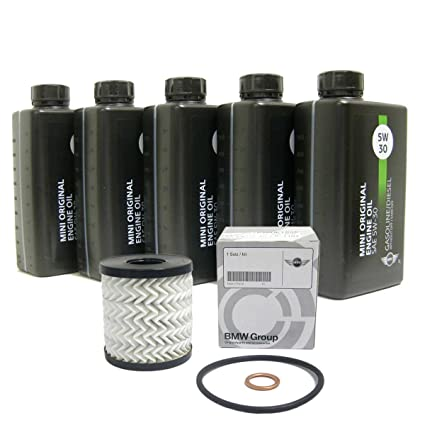 Amazoncom Mini Cooper Cooper S Oil Change Kit 5w 30 Clubman R55