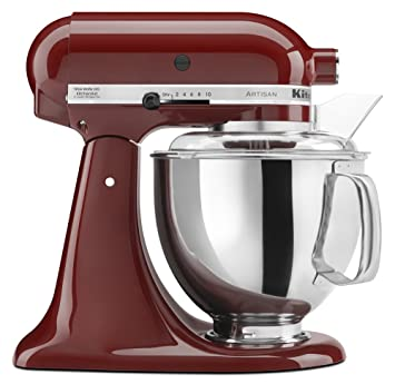 Amazon.Com: Kitchenaid Ksm150Psgc Artisan Series 5-Qt. Stand Mixer