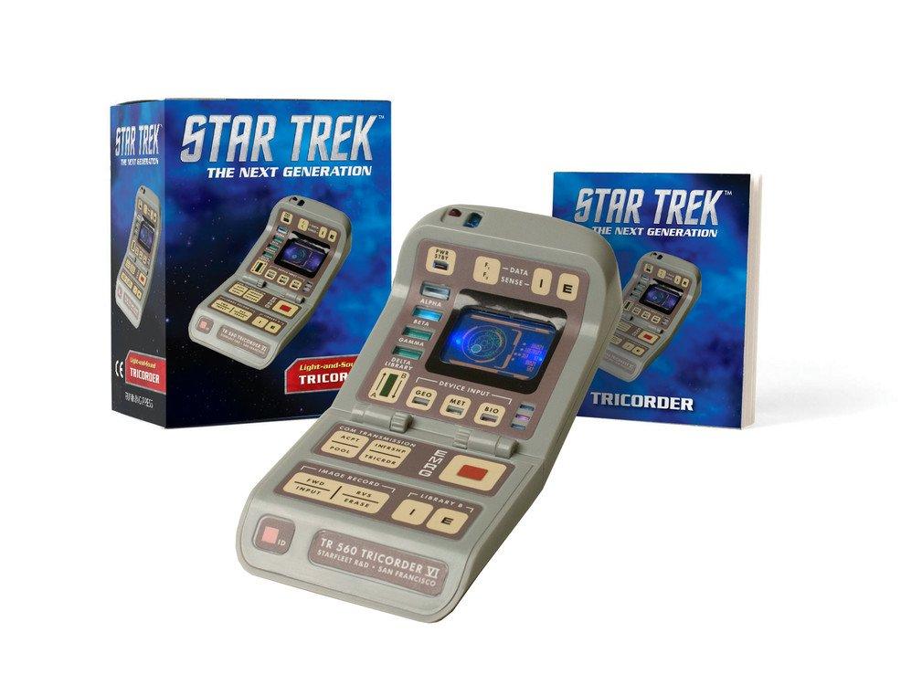 star trek light and sound tricorder miniature editions