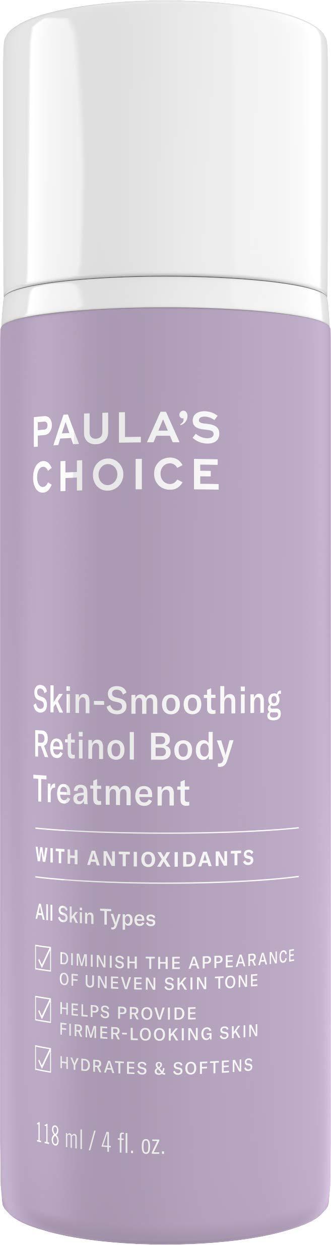Paula's Choice Retinol Skin-Smoothing Body Treatment, Shea Butter, Vitamin C & E Lotion, Anti-Aging Moisturizer, 4 Ounce by PAULA'S CHOICE