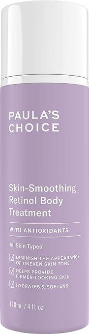 Paula's Choice Retinol Skin-Smoothing Body Treatment, Shea Butter, Vitamin  C & E Lotion,