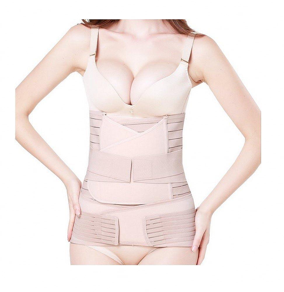 3 in 1 Postpartum Support - Recovery Belly/waist/pelvis Belt Shapewear Waist Belts Tirain FBA-TRB020079NU