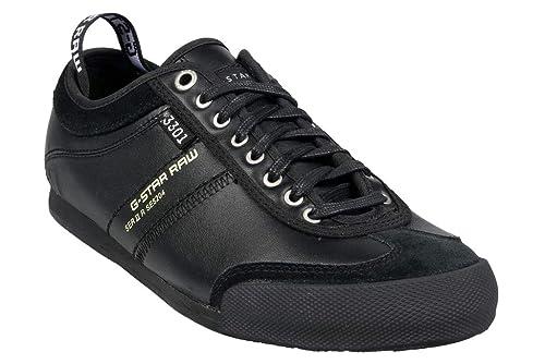 G-STAR RAW Zapatillas de Deporte de Otra Piel Hombre: Amazon.es: Zapatos y complementos