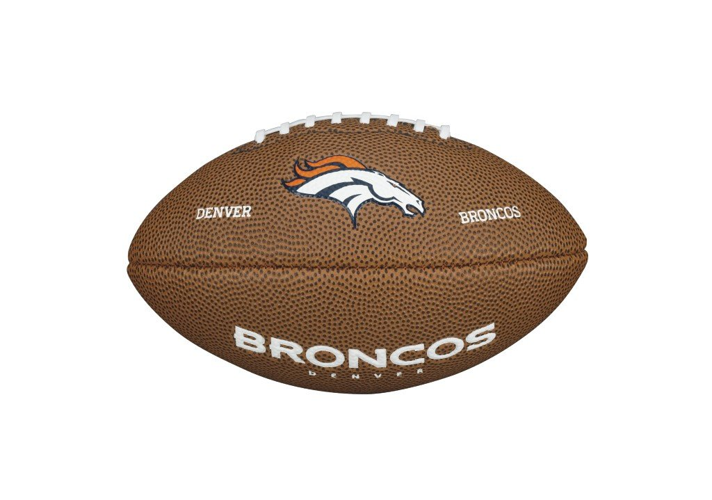 Wilson NFL DENVER BRONCOS Team Logo Mini Football WTF1533IDDN