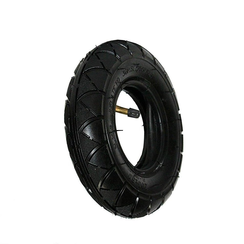 200X50 Tire & Inner Tube Set for Electric Scooter like Razor E100, E150, E200, Dune Buggy, ePunk, Crazy Cart, PowerRider 360 and eSpark