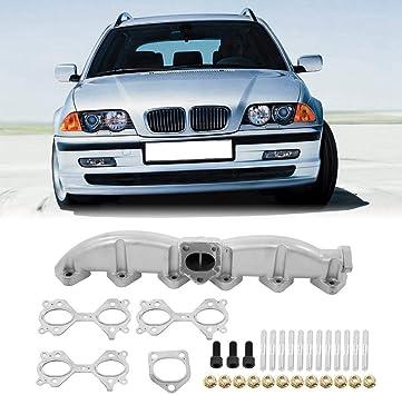 COLLECTEUR ÉCHAPPEMENT FONTE Pour BMW SÉRIE 3 5 7 X5 X3 E46 E60 E61 E65 E83 E53