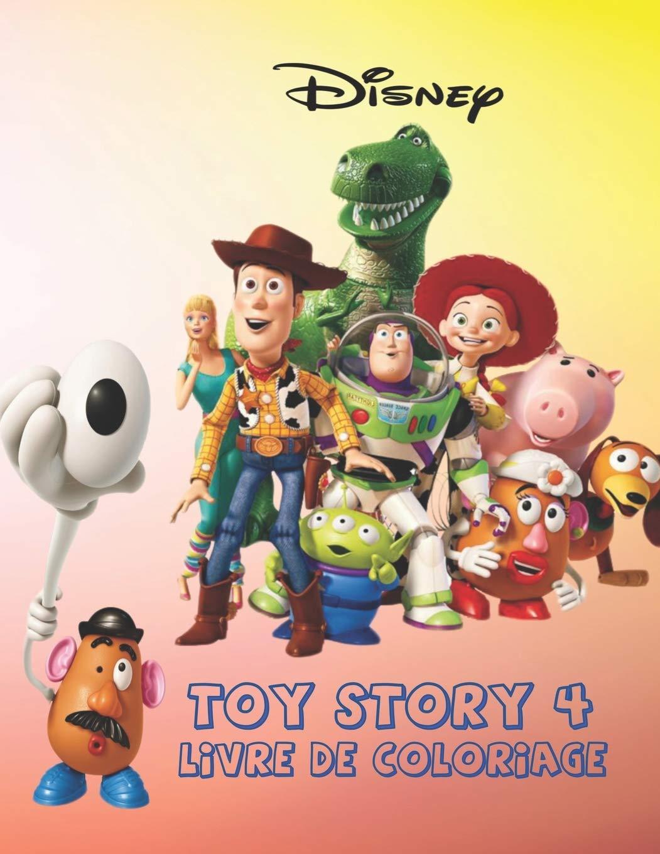 Disney TOYS STORY 32 LIVRE DE COLORIAGE Livre de coloriage Toy ...