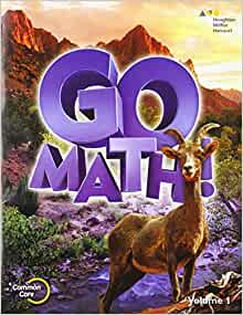 Amazon.com: Go Math!: Student Edition Volume 1 Grade 6 ...