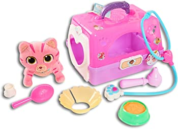 Doc Mcstuffins Toy Hospital Pet Carrier-Whisper - Plush Roleplay