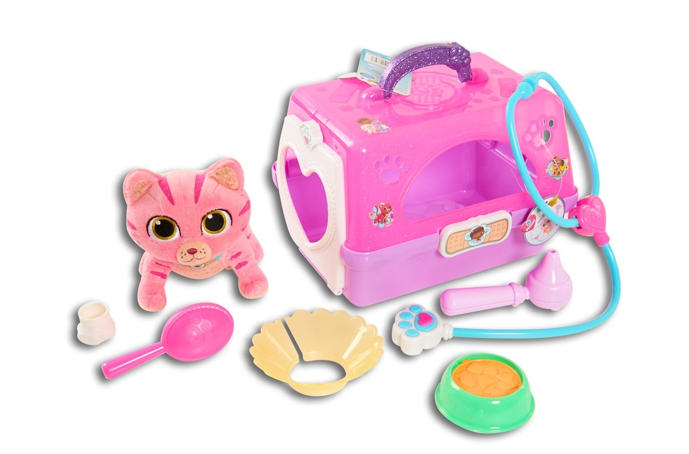 Doc McStuffins Toy Hospital On-The-Go Pet Carrier, Whispers