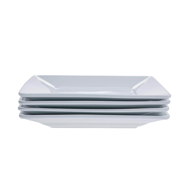 Denmark - 4 Piece 8.5 Inch Square Salad Plate Tabletops Unlimited TTU-R4024-EC