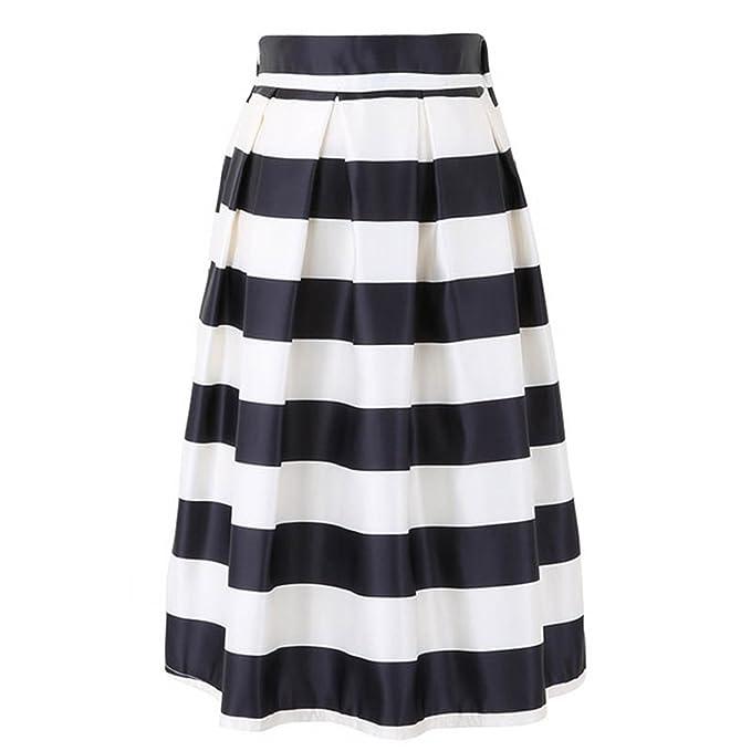 54c2caaab Amazon.com: Michael Palmer Fashion Women Retro Black and White ...