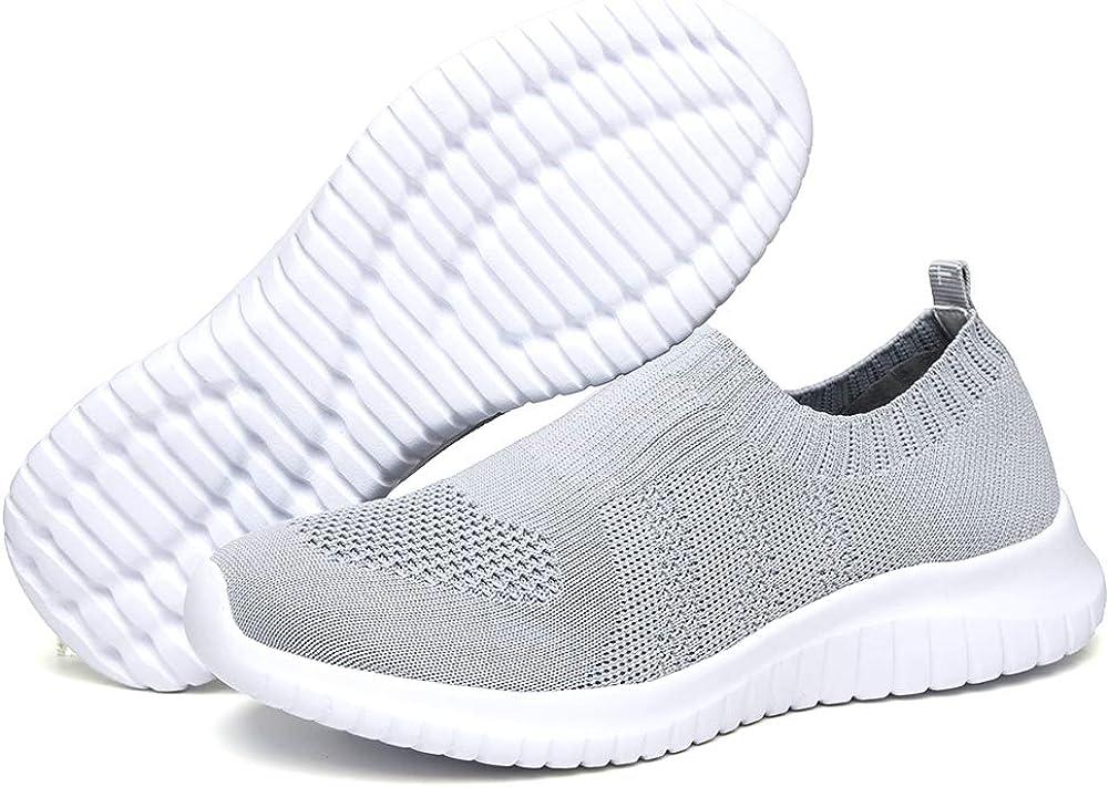 TIOSEBON - Zapatillas de correr ligeras para mujer: Amazon.es: Zapatos y complementos