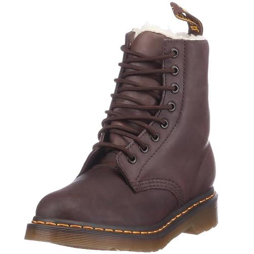 Dr. Martens Serena Polished Laredo, Botas Militares para Mujer: Amazon.es: Zapatos y complementos