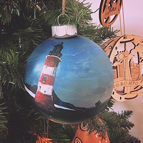 Amazon Com Large Custom Hand Painted Christmas Ornament Christmas