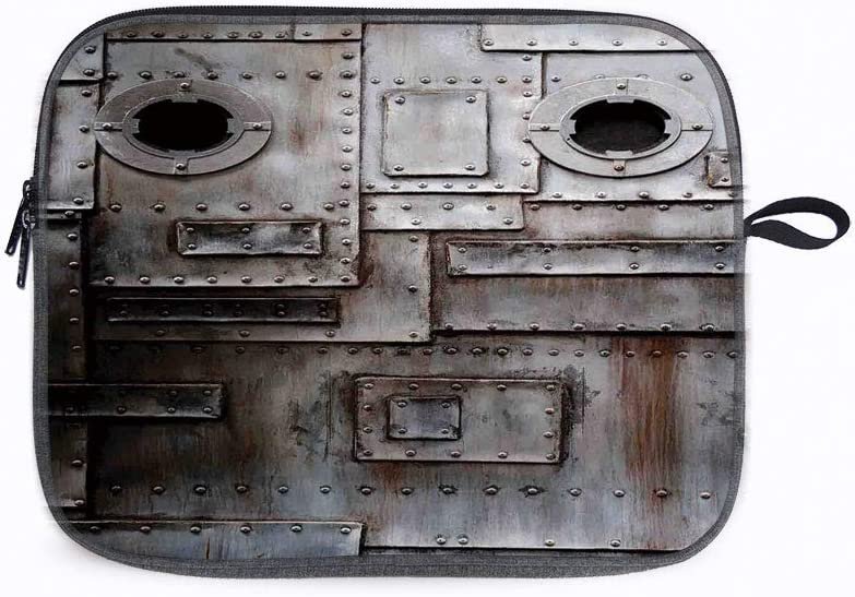 "Industrial Rusty Grunge 14"" Laptop Sleeve Case Compatible with 14"" Notebook/ 14"" Lenovo ThinkPad E480/"