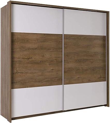 Mb Moebel Moderne Schlafzimmer Mobel Kleiderschrank Mit Schwebeturen Schrank Finland Amazon De Kuche Haushalt