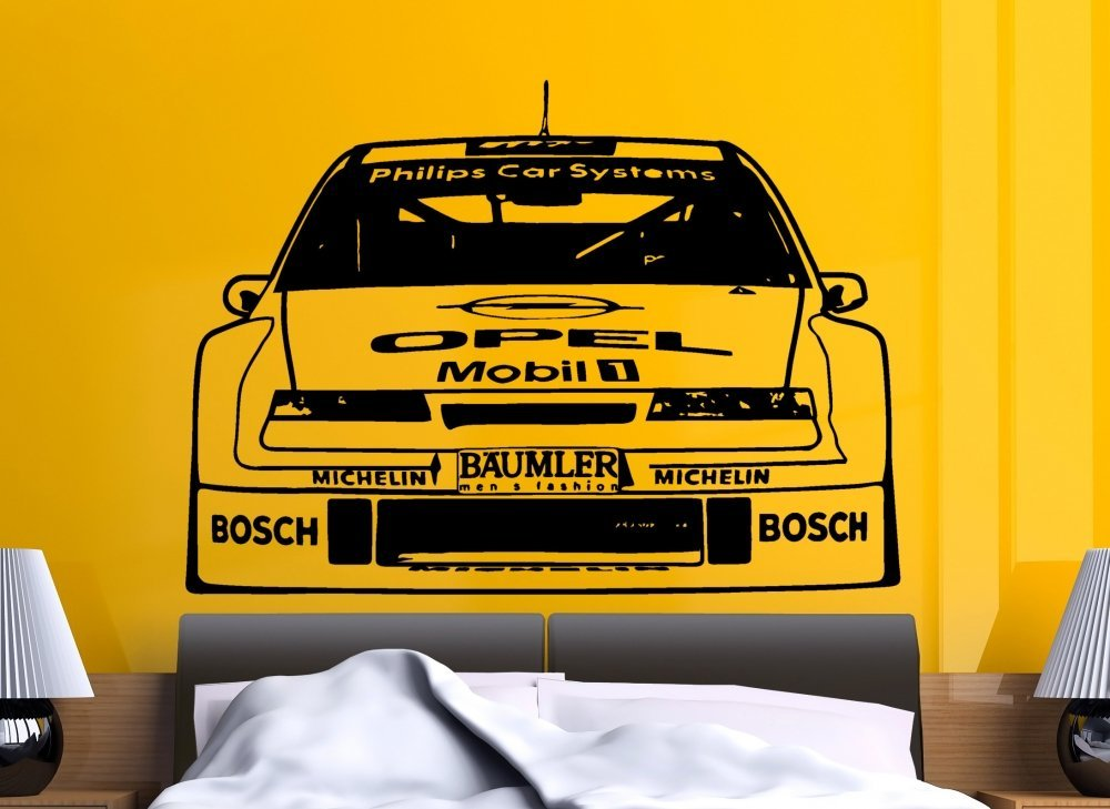 Streetwall Pared Adhesivo Opel Calibra 1994 DTM, Negro, X-Large: Amazon.es: Bricolaje y herramientas