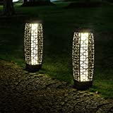 Outdoor Floor Lamp Solar Powered LED Light