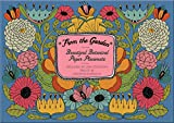 From the Garden – Beautiful Botanical Paper Placemats: Artwork by Lisa Congdon – 48 Placemats – 6 Assorted Designs