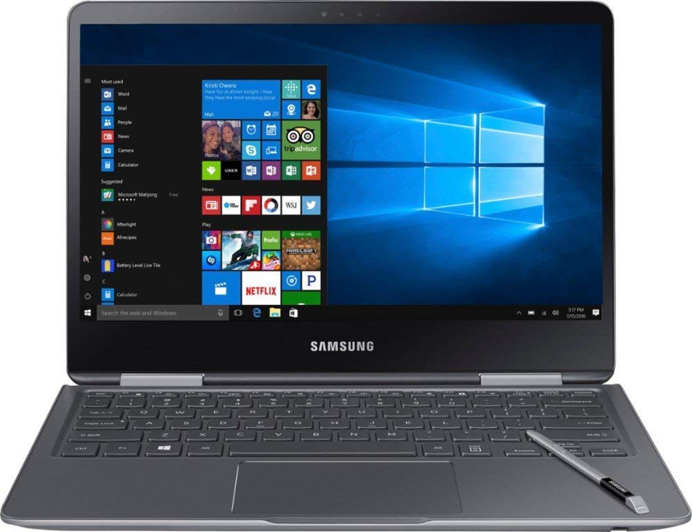 Samsung Notebook 9 Pro NP940X3M-K01US 13.3 Touch Screen Laptop, Intel Core i7-7500U Up To 3.5GHz, 8GB DDR4, 256GB SSD, Backlit K 1