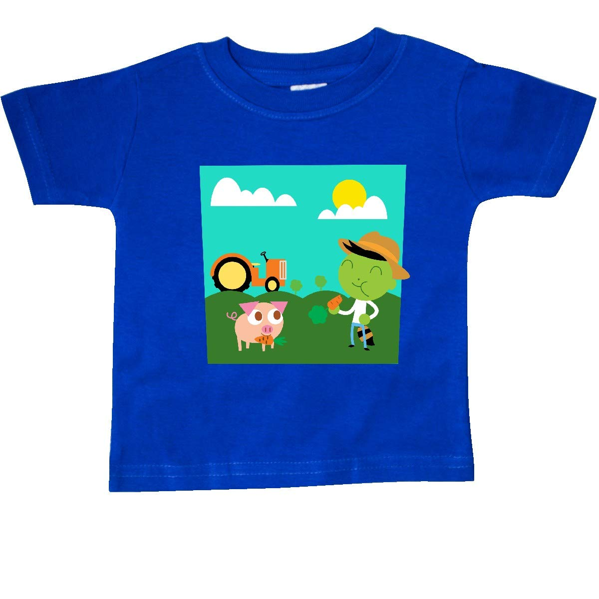 inktastic Del Shares His Carrots Baby T-Shirt PBS Kids