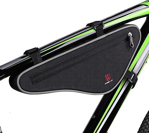 Bolso de Triángulo de Cuadro de Bicicleta, Diseño de de Bolsa de Prueba de Golpes para