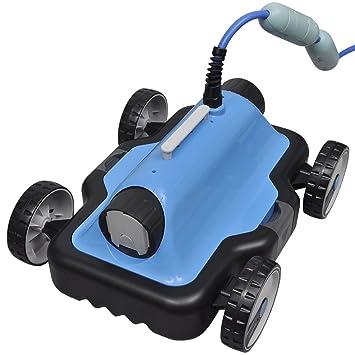 vidaXL Robot limpiafondos eléctrico con cable de 9 m para piscina ...