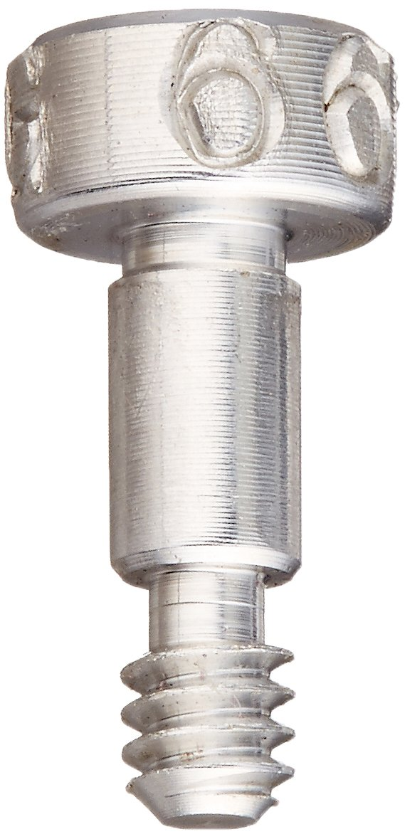 6061 Aluminum Shoulder Screw 7//32 Shoulder Length 1//8 Shoulder Diameter 7//32 Shoulder Length Auccurate Manufacturing STR72018C03.5 Socket Head Cap Standard Tolerance 1//8 Shoulder Diameter Meets ASME B18.3 #4-40 Thread Size Hex Socket Drive