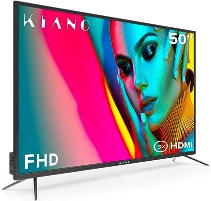 Televisor Kiano Slim TV 50 Pulgadas [127 cm Full HD] (Triple Tuner ...