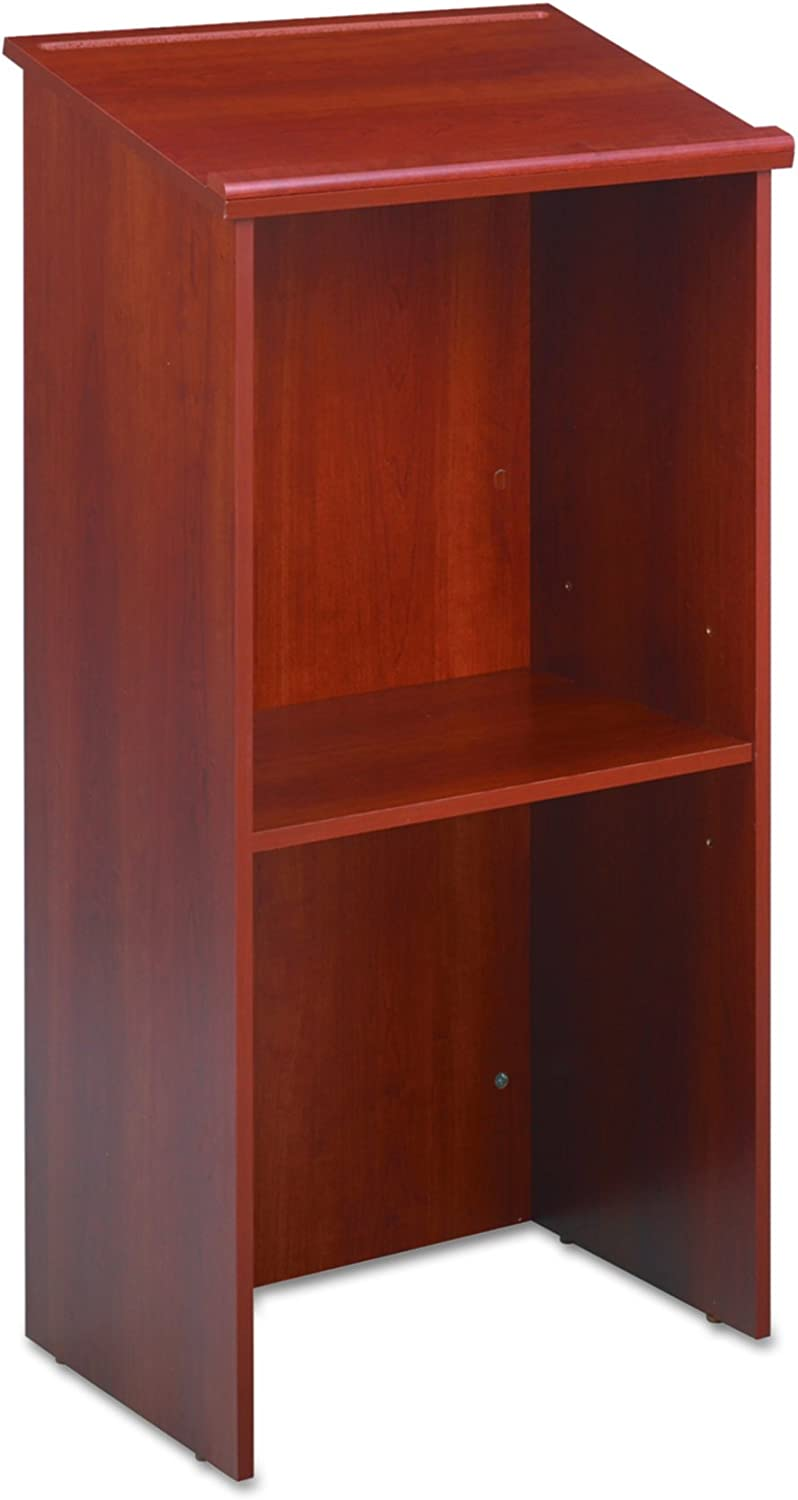 Safco Products Stand-Up Lectern, Cherry