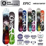 15-16 GRAY グレイスノーボード EPIC