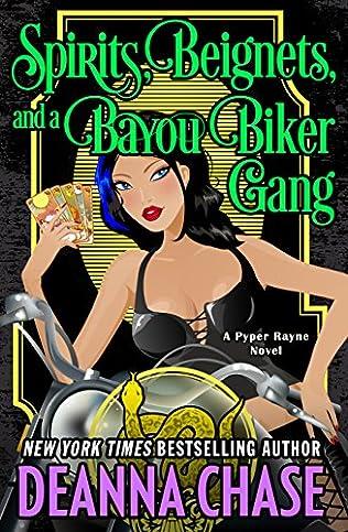 book cover of Spirits, Beignets, and a Bayou Biker Gang