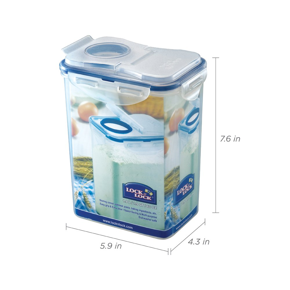 Lock Bote Empilable Rcipient Hermtique Rectangulaire 550 Locklock Food Container Classics 26l Hpl826 Ml Cuisine Maison