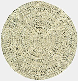 "product image for Capel Sea Pottery Sandy Beach 0' 36"" Round Braided Rug"