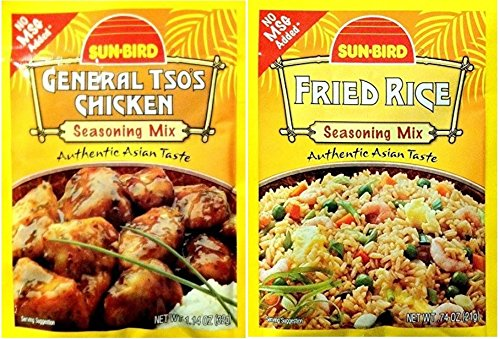 Chinese Seasoning - Fried Rice and General Tso's Chicken 8-Pack by HL Enterprise